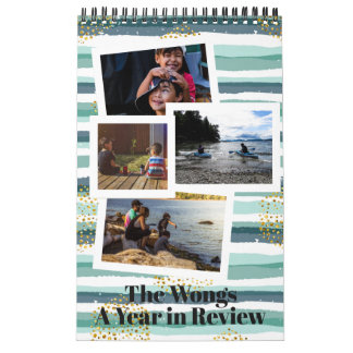 Patterns & Overlays | Photo Personalized Calendar