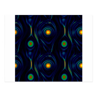 patterns postcard