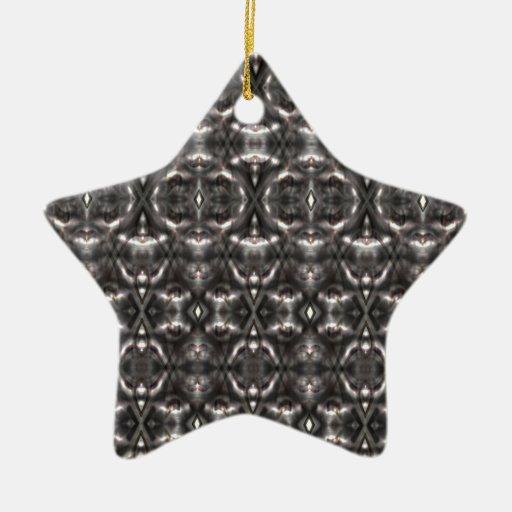 patterns>Skins mezclados Adorno Navideño De Cerámica En Forma De Estrella