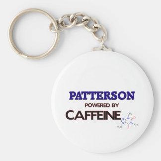 Patterson accionó por el cafeína llavero redondo tipo pin