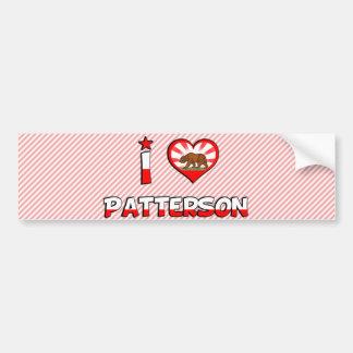 Patterson CA Etiqueta De Parachoque