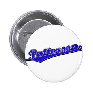Patterson en azul pin