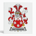 Patterson Family Crest Binders