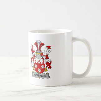 Patterson Family Crest Coffee Mug