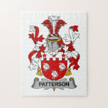 Patterson Family Crest Jigsaw Puzzles