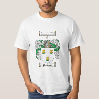 Patterson Family Crest - Patterson Coat of Arms T-Shirt