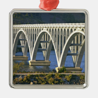 Patterson Memorial Bridge highway 101 over Christmas Ornament