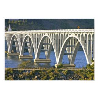 Patterson Memorial Bridge highway 101 over Art Photo