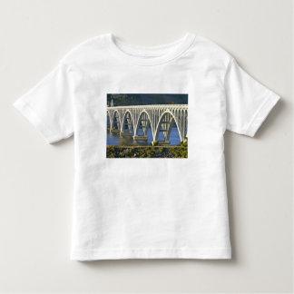 Patterson Memorial Bridge highway 101 over Toddler T-shirt