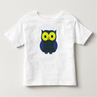 Patterson Tartan Plaid Owl Toddler T-shirt
