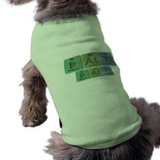 Patti como titanio del astatino del fósforo camisetas mascota