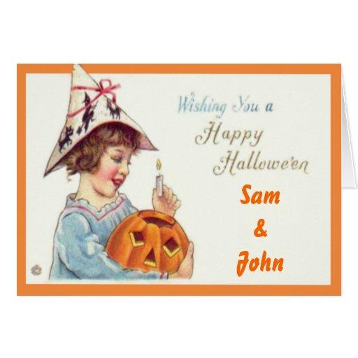 Patties Pumpkin Halloween Greeting Cards