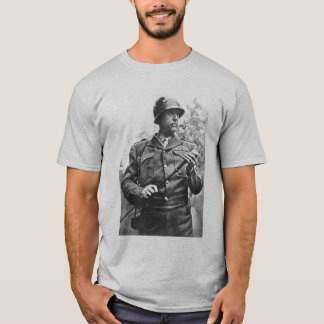 Patton and quote - grey T-Shirt