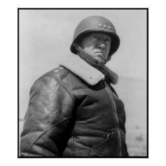 Patton -- Border Poster