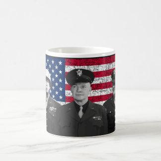 Patton, Eisenhower, and Doolittle Classic White Coffee Mug