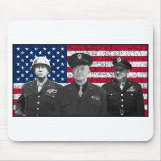Patton, Eisenhower, y Doolittle Mousepad