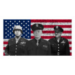 Patton, Eisenhower, y Doolittle Posters
