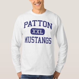 Patton Mustangs Middle McMinnville Oregon T Shirts