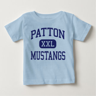 Patton Mustangs Middle McMinnville Oregon Tee Shirt