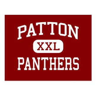 Patton - Panthers - High - Morganton Postcard
