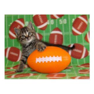 Patton Plays Football - Postcard