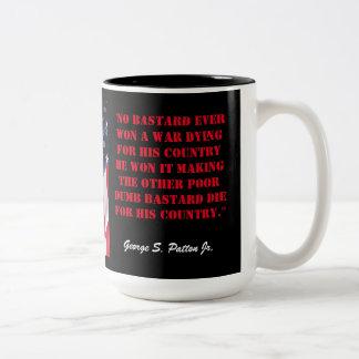 PATTON Two-Tone COFFEE MUG