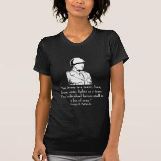 Patton y cita camisetas