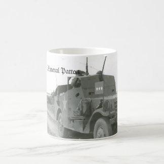 Pattons-M3A1-scout-car-1 Classic White Coffee Mug