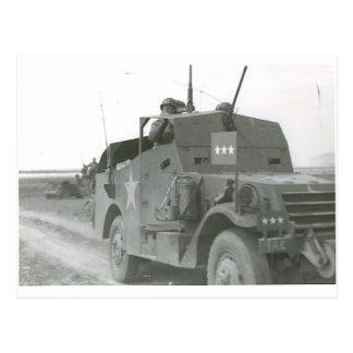 Pattons-M3A1-scout-car-1 Postcard