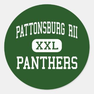 Pattonsburg RII - Panthers - High - Pattonsburg Stickers