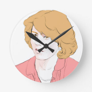 Patty Duke Round Clock