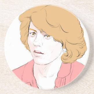 Patty Duke Sandstone Coaster