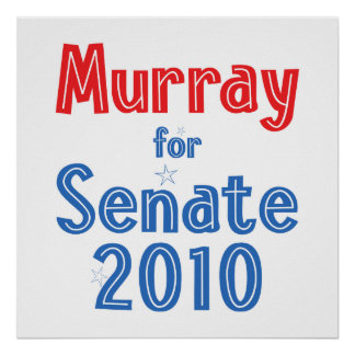 Patty Murray for Senate 2010 Star Design Posters