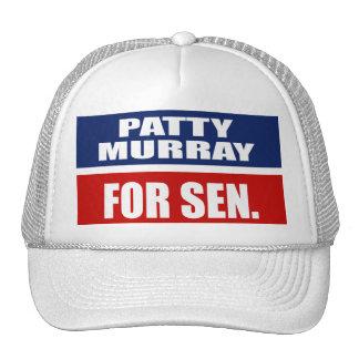 PATTY MURRAY FOR SENATE HAT