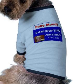 Patty Murray que arruina América Camiseta De Perro