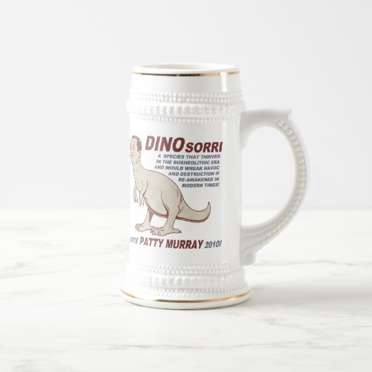 Patty Murray v Dino Sorri Beer Stein
