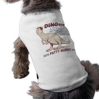 Patty Murray v Dino Sorri Camiseta De Perro