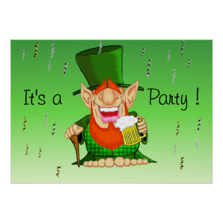 Patty O'Party Poster