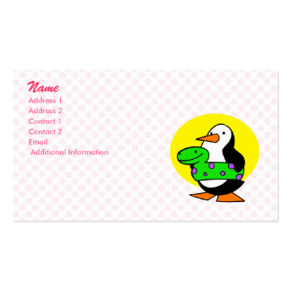 Patty Penguin Business Card