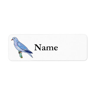Patty Pigeon.png Custom Return Address Label