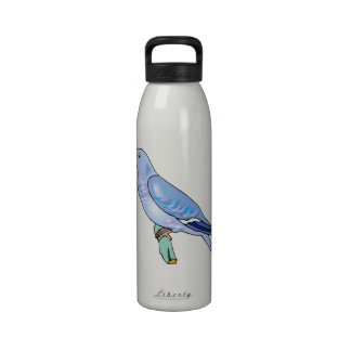 Patty Pigeon.png Water Bottles