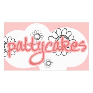 Pattycakes Custom Request Design Business Cards