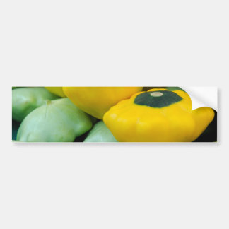 Pattypan Squash Bumper Sticker
