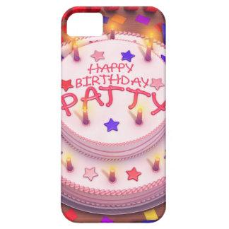 Patty's Birthday Cake iPhone 5 Cases
