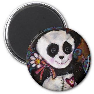 Patty's Panda 2 Inch Round Magnet