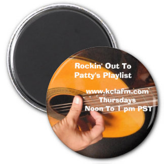 patty's playlist magnents 2 inch round magnet