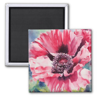 Pattys Plum 2 Inch Square Magnet