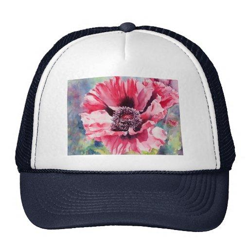 Pattys Plum Mesh Hats