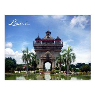 patuxai Laos Postales