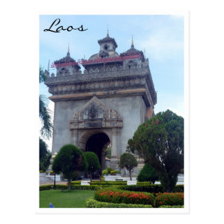 patuxai Vientián Laos Postal